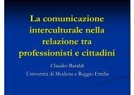 Comunicazione interculturale - Azienda USL di Reggio Emilia
