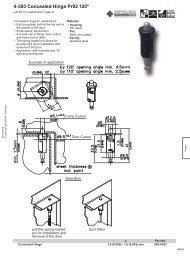 4-393 Concealed Hinge Pr02 120°