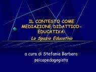 Lo Spazio Educativo - CTRH Monza e Brianza