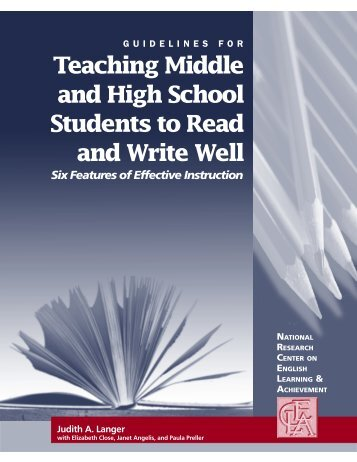 Teaching Middle and High School Students to Read ... - EDC448URI