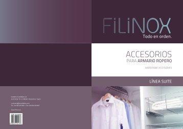 Catálogo Línea Suite - Filinox