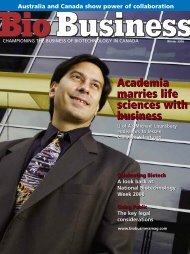 Academia marries life sciences with business ... - Bio Business