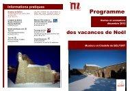 Informations pratiques - Musées en Franche-Comté