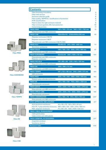 Enclosure Catalogue - Anixter Components