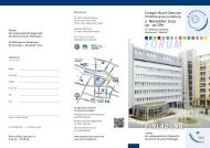 7. November 2013 19 - 22 Uhr - St.-Antonius-Hospital