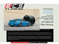 GT1 Billet Oil Filter Housing ES2580635 ES2593684