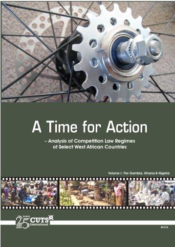 A Time for Action - cuts ccier