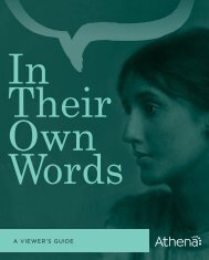 In Their Own Words - Athena
