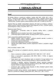 UPU Karting centar - I. Obrazloženje - Grad Biograd na Moru
