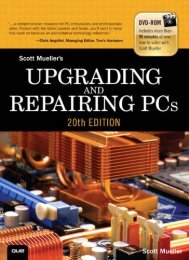 Upgrading and Repairing PCs - Pearsoncmg.com