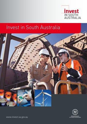 Invest in South Australia - DMITRE - SA.Gov.au