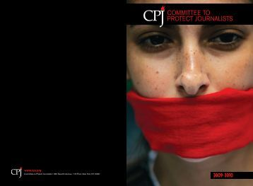 annual report - Committee to Protect Journalists