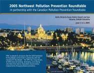 Agenda - Pacific Northwest Pollution Prevention Resource Center
