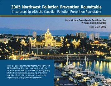 Agenda - Pacific Northwest Pollution Prevention Resource Center