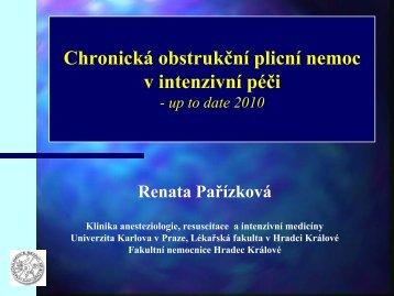 Chronická obstrukční plicní nemoc v intenzivní péči - Česká ...