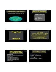 Richman, Dr. Colin: Periodontal Disease March 2010