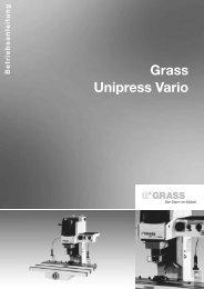 Unipress Vario D.qxd - Grass