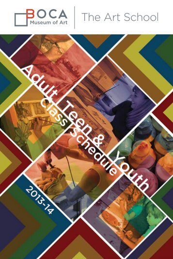 2013-2014 Class Catalog - Boca Raton Museum of Art