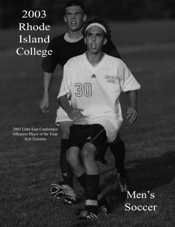 M.Soccer - Rhode Island College Athletics