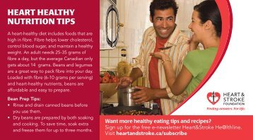 heart healthy nutrition tips - Heart and Stroke Foundation of Manitoba