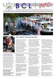 Mai/August 2006 - Lahn, BCL Bootsclub Limburg e.V.