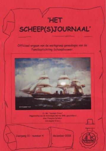 """4. december - Het """"scheep(s)journaal"""""""