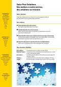 innovation. - Swiss Post Solutions - Page 3