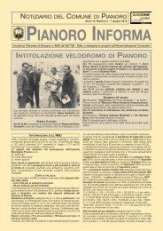 Anno 2012 n. 3 - Comune di Pianoro