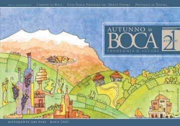 Autunno in Boca - 2 quartiniA5_MOD.indd - Comune di Boca