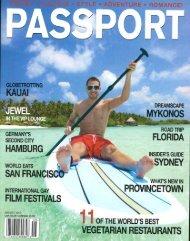 Passport, August 2013 - Koa Kea Hotel