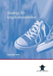 Strategi för ungdomsärenden - Åklagarmyndigheten