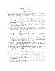 TP3, Codes correcteurs