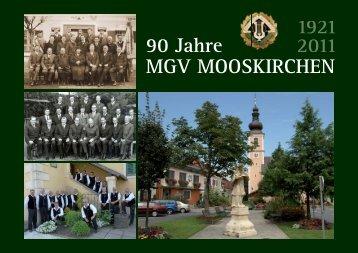 Die Sänger des MGV Mooskirchen 1921 - Marktgemeinde ...