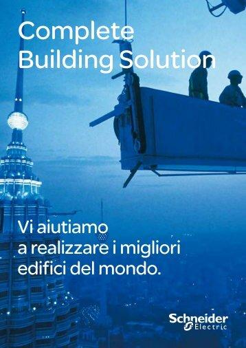 Panoramica sugli edifici - Schneider Electric