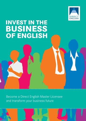 invest in the English language training market with direct English ...