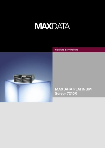 MAXDATA PLATINUM Server 7210R