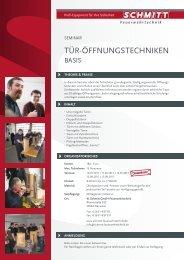 TÜR-ÖFFNUNGSTEchNIKEN - Schmitt Feuerwehrtechnik