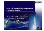 GOAL: Multidisciplinary design tool for expandable launcher