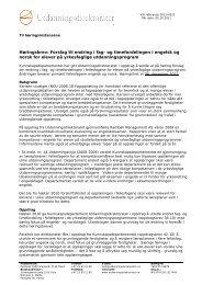 Høringsbrev: Forslag til endring i fag- og timefordelingen i engelsk ...