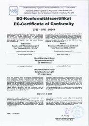 CE-Zertifikat - Eternit