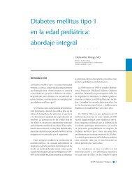 Diabetes mellitus tipo 1 en la edad pediátrica: abordaje integral