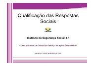 Qualificação das Respostas Sociais - Socialgest