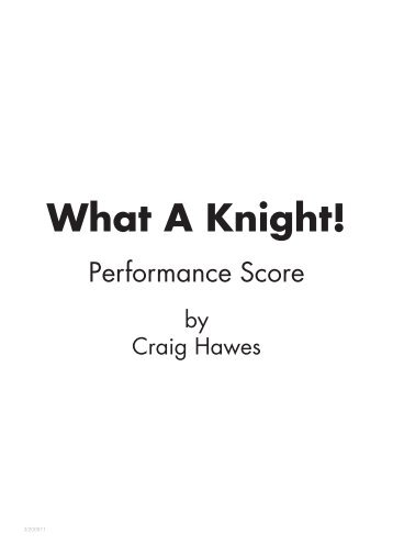Performance Score Sample - Musicline