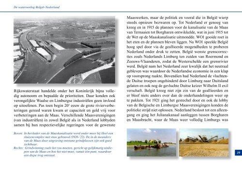 de wateroorlog tussen België en Nederland - theobakker.net