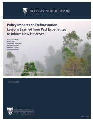 Policy Impacts on Deforestation Lessons Learned ... - The REDD Desk