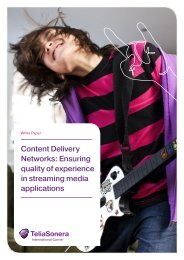 Content Delivery Networks:  Ensuring quality of experience in ...