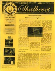 2006 Issue 1.pdf - Camp Morasha
