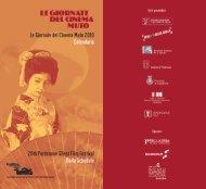 29th Pordenone Silent Film Festival Daily Schedule Le Giornate del ...