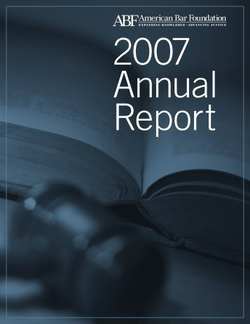 Download - American Bar Foundation
