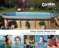 our downloadable product brochure - The Swimming Pool Store